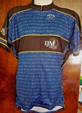 PRIMAL IJM Seek Justice  Bicycle Jersey 3/4 Zip S/S Men's XXL