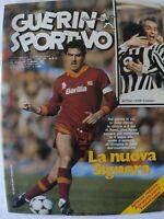 GUERIN SPORTIVO 8/1983 + POSTER NINO LA ROCCA REAL MADRID BENFICA DI BARTOLOMEI