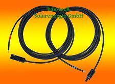 2x 1m Anschlusskabel 4mm² inkl MC4 Stecker Solarpaneel auf Laderegler Solarkabel