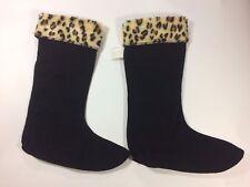 Corkys Womens Fashion Fleece Boot Warmer Sock-Rain/Cold Weather Boot Liners LG