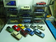 1/43 IXO UH NOREV SOLIDO  LOT VOITURE RENAULT