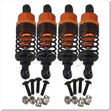 4 x Orange Alloy RC1:10 On Road Car Shock Absorber for HPI RS4 SPORT3