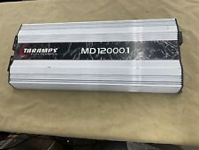 Taramps Md12000 Mono 1 Ohm Amplifier - Bass Or Voice - Refurbished Amp 12K Rms!