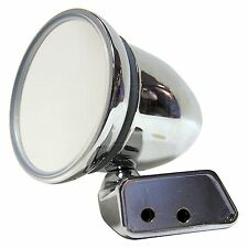 Chrome Bullet Mirror - Mountney CMFM-R - with Austin Mini Door Mounting - Left