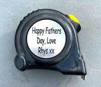 Personalised Engraved Tape Measure Fathers Day Gift For Him Dad Measuring Tape