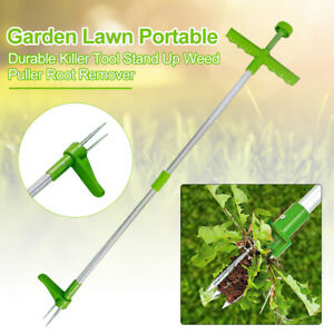 Portable Long Handled Lightweight Claw Weeder Durable Manual Outdoor Stand