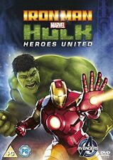 Marvels Iron Man and Hulk: Heroes United [DVD][Region 2]