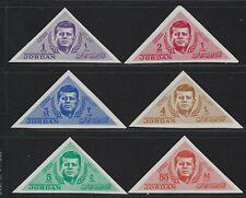 1964 Jordan Scott #457-462 - Imperf John F. Kennedy Memorial Set of 6 - MNH