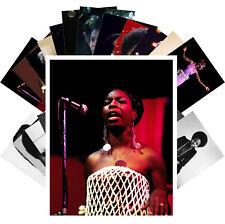 Postcards Pack [24 cards] Nina Simone Jazz Blues Music Vintage Posters CC1291