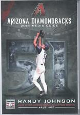 2015 Arizona Diamondbacks Baseball Media Guide - Randy Johnson cover