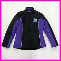NFL Super Bowl LII Coat Jacket Minnesota 2018 Women's Size L - NEW WITH TAGS A1