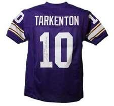 Fran Tarkenton Autographed Minnesota Vikings XL Purple Jersey HOF JSA 13447