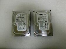 """Qty Lot (2) Dell H962F 250GB WD2502ABYS 7200RPM 16MB Cache SATA 3.0Gb/s 3.5"""""""