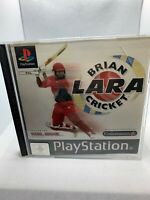 Brian Lara Cricket - PS1 - Complete With Instructions