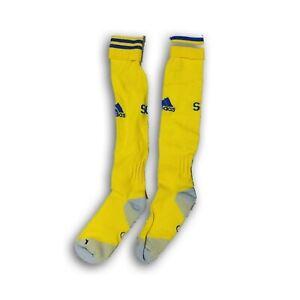 Adidas Performance Team Socks Yellow Color Men's Size 9-10.5