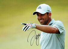 Sergio GARCIA Signed Autograph 16x12 GOLF Ryder Cup WINNER AFTAL COA