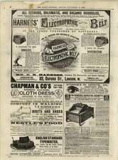 1891 J Draper Organette Works Blackburn Parlourmaid's Housekeepers Nurses Wanted