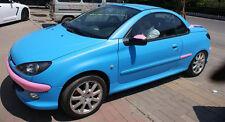 """Hoja de envoltura de vinilo mate azul de bebé coche envoltorio """"burbuja de aire libre"""" COCHE ENVOLTORIO UK"""