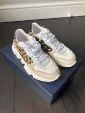 Serafini Leopard And Glitter Sneakers