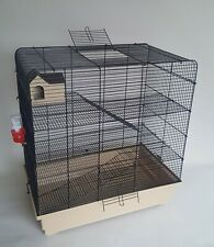 Rat Cage Gerbil Mouse Degu Animal Hamster Rodents Pet House Water Bottle 3 Tiers