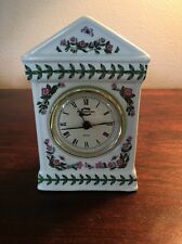 Portmerion Botanic Garden Desk Clock