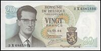 1964 | Belgium 20 Francs Banknote | Banknotes | KM Coins