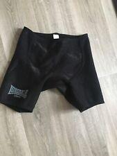 Lonsdale Black NeopreneCompression Support Shorts Large Black