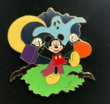 Disney Shopping Pin Trick or Treat Set Mickey Mouse w/ Ghost Le100 Halloween