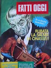 Fatti Oggi n°3 1979 - Settimanale attualità a fumetti    [G258]