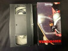 Thrasher Timebomb Vhs Skate Video Skateboard Magazine #16