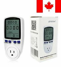 RioRand Plug Power Meter Energy Watt Voltage Amps Meter with Electricity Usag...