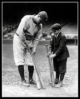 Babe Ruth #31 Photo 8X10 - New York Yankees Bat Boy  Buy Any 2 Get 1 FREE