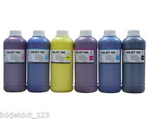 6x500ml Pigment refill ink for Epson Pro 10000 Stylus Pro 10600 BK/CMY/LC/LM