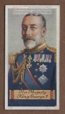 King George V Monarch Of The United Kingdom 1930s Trade Ad Card