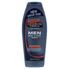 Cocoa Butter Men Body and Face Wash by Palmers for Men - 17 oz Body Wash