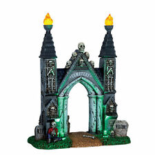 Lemax Spooky Town - Lighted Cemetery Gate - NIB