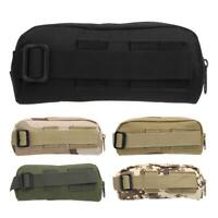 Military Tactic Molle Sunglasses Case Eyeglasses Bag Outdoor Glasses Pouch Bag !