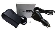 """OMNIHIL Adapter and Car Charger for O2-Cool 10"""" Battery Operated Fan #1053"""