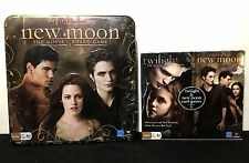 NEW 3 Twilight Saga NEW MOON Games THE MOVIE Board Game 2 CARD GAMES Sealed Tin
