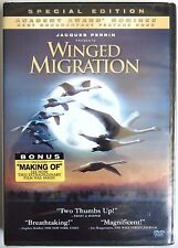 Winged Migration (Dvd, 2003) New Special Edition Documentary Jacques Perrin Bird