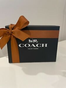 Genuine COACH Slim Card Wallet NEW gift boxed