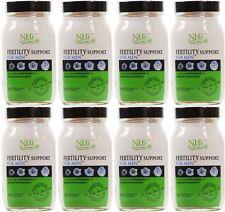 Práctica de salud natural de la fertilidad Soporte para hombre - 90 cápsulas (paquete de 8)
