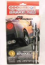 Goodridge Stainless Steel Brake Lines 93-98 Lexus SC300 SC400 21113