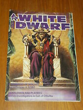 WHITE DWARF #74 ROLE-PLAYING GAMES WORKSHOP UK MAGAZINE~