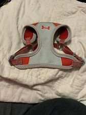 Dog Harness Medium Red And Gray