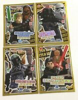 LEGO Star Wars - Serie 2 Trading Cards - 4 limitierte Karten (LE13 - LE16) TOP