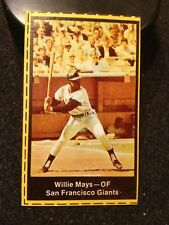 1969 Nabisco Team Flakes Willie Mays Giants
