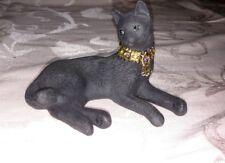 Lenox Miss Chievous Black Jeweled Cat Figurine with BOX