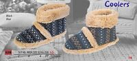 Coolers Mens Bootie Slippers   / Boot Style Slippers  FREE POST  & BRAND NEW