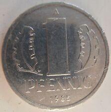 Germania est DDR 1 Pfennig 1985
